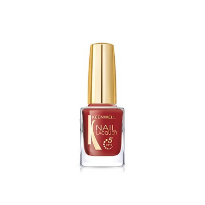 № 35 – Ethereal Red / Nail Lacquer (Keenwell) – лак для ногтей «Марсианский закат» (глянец)